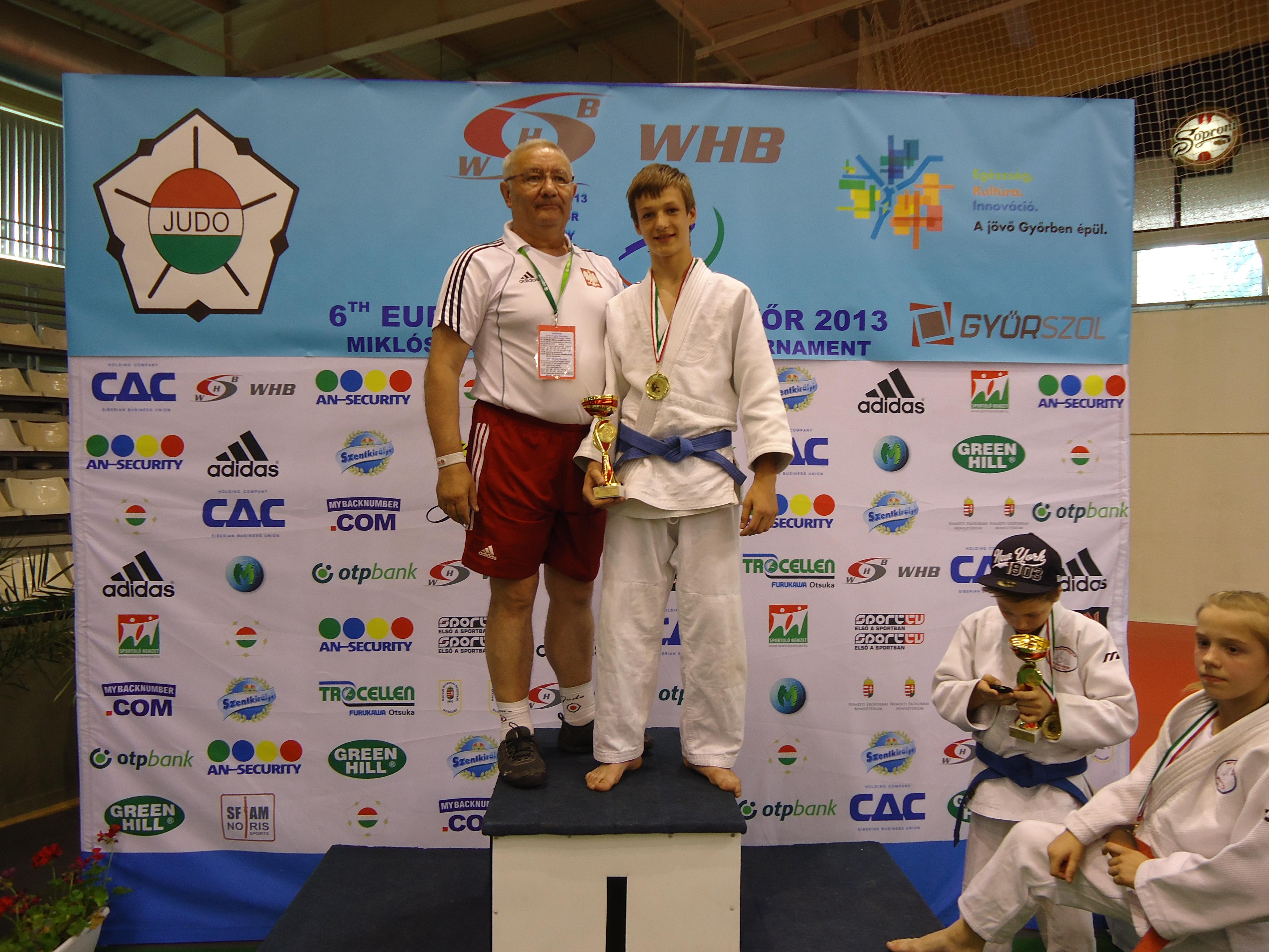 Medal na Pucharze Europy Młodzików