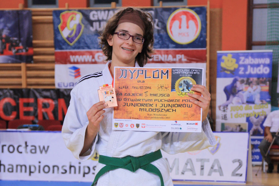 Międzynarodowy Turniej Judo Wrocław Open 2013