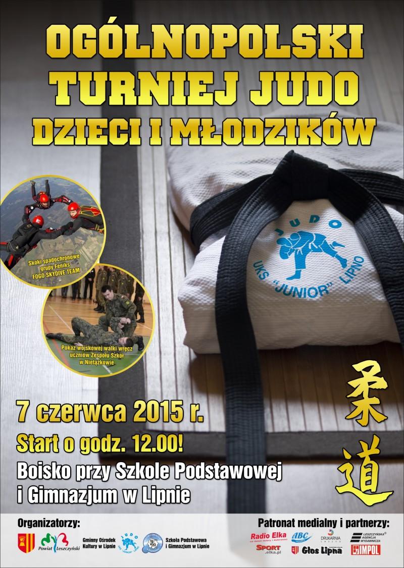 plakat judo lipno 2015